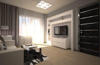 Квартира-серого-и-черного-оттенков