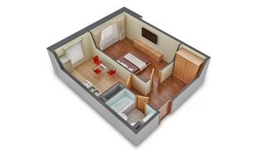 электрика 1 комнатная квартира