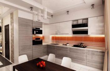 дизайн проект кухни 2019