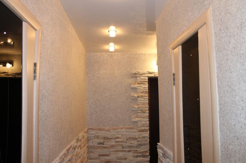 покраска потолка в коридоре