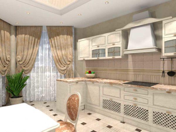 дизайн проект квартиры lux