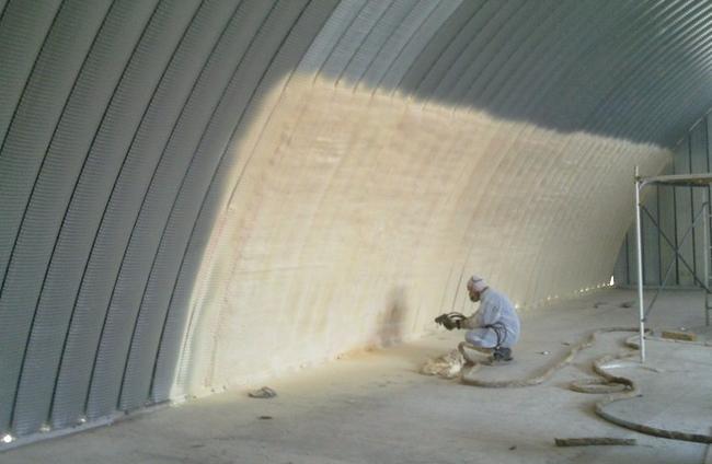теплоизоляция нежилых помещений
