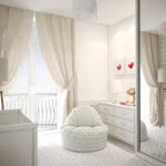 дизайн проект таунхауса спальня