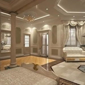 проект интерьера для дома lux премиум класса