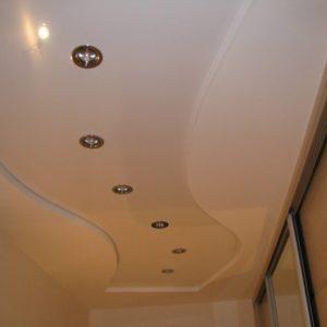 дизайн потолка современный White-well