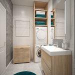 дизайн проект таунхауса ванная