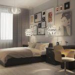 дизайн проект 2 комнатной квартиры современный