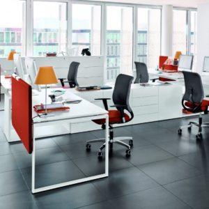 дизайн маленького офиса